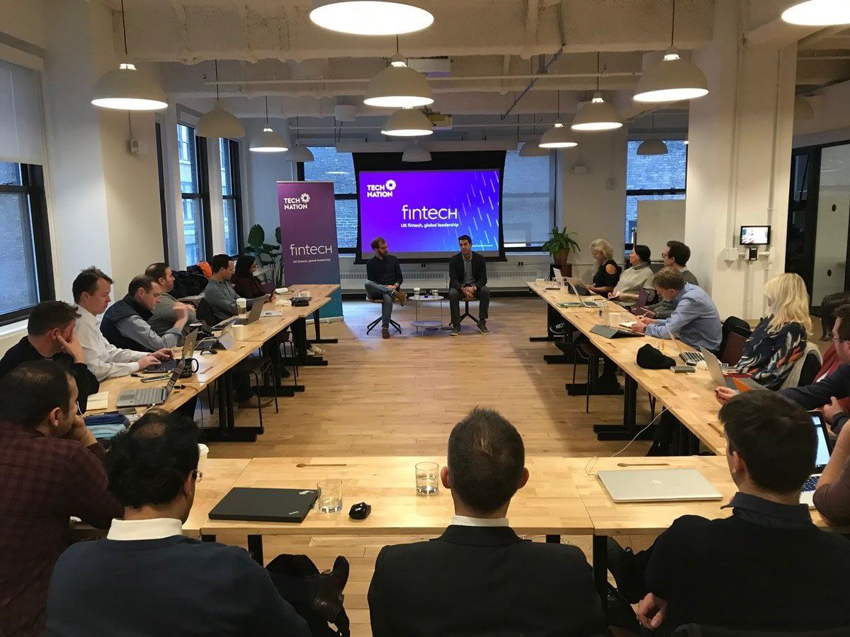 2018 Fintech scaleups visit New York City