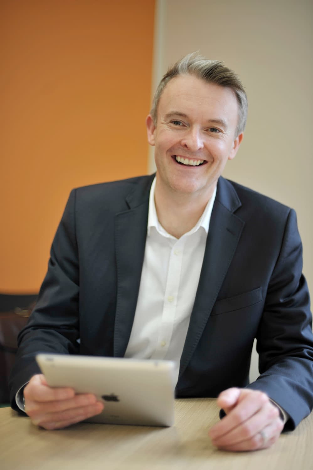 Exco InTouch CEO and founder Tim Davis