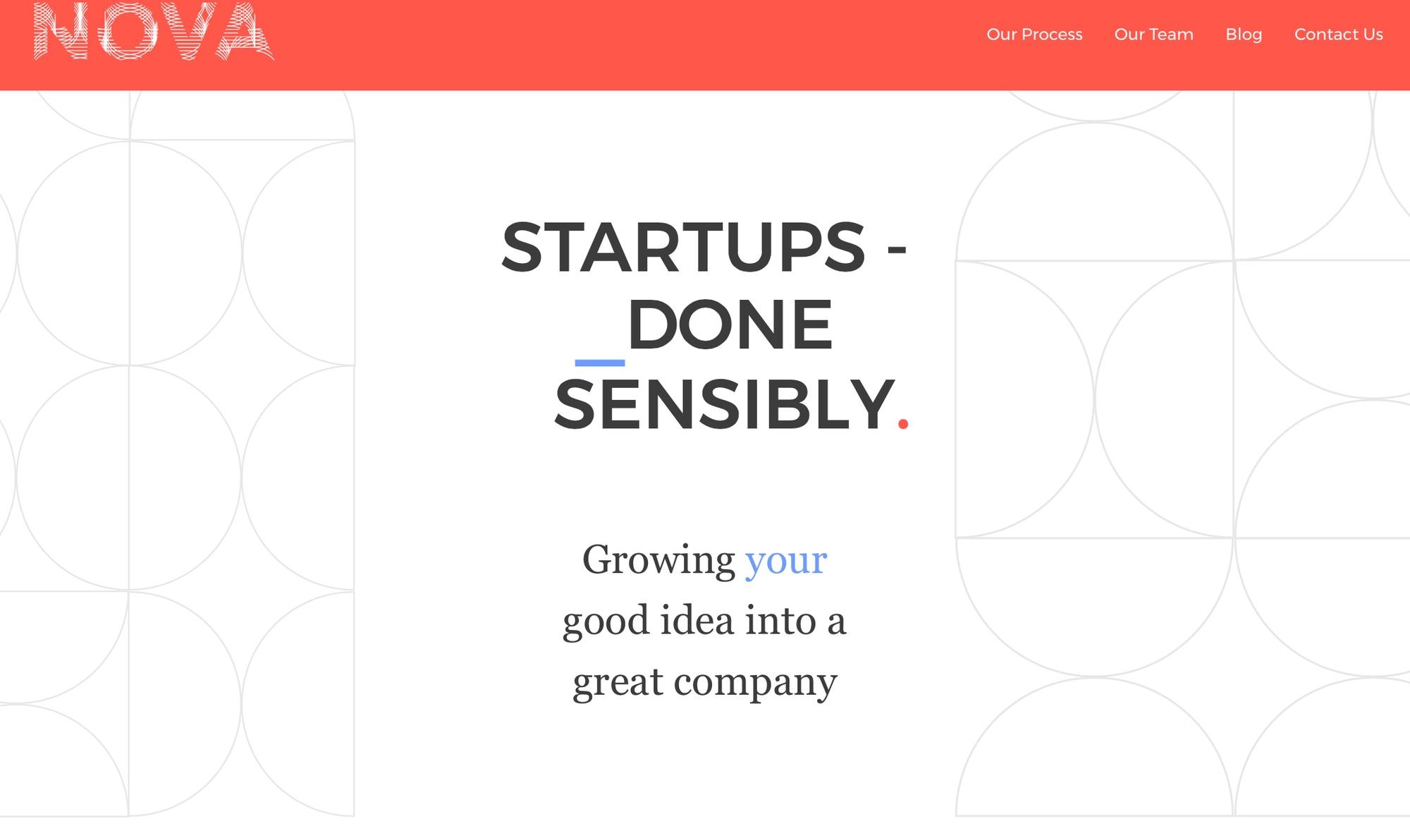 Nova website