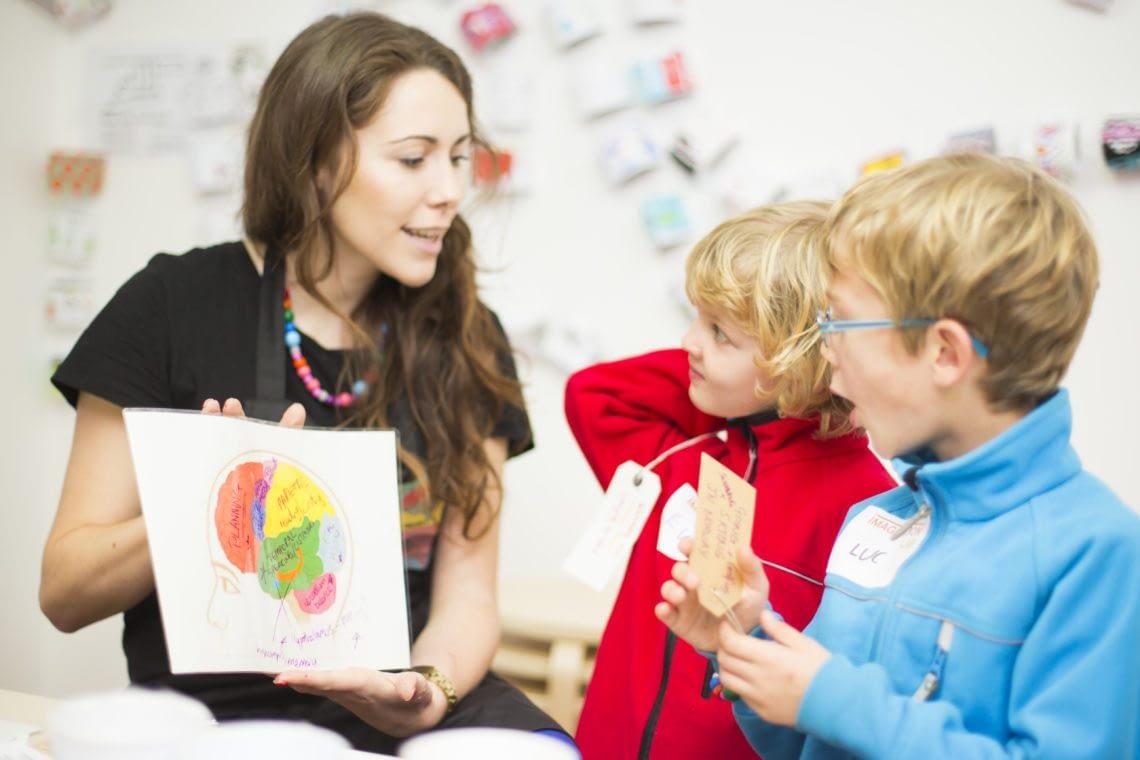 Imagination Lab, London, London Brain Project activity, 2014