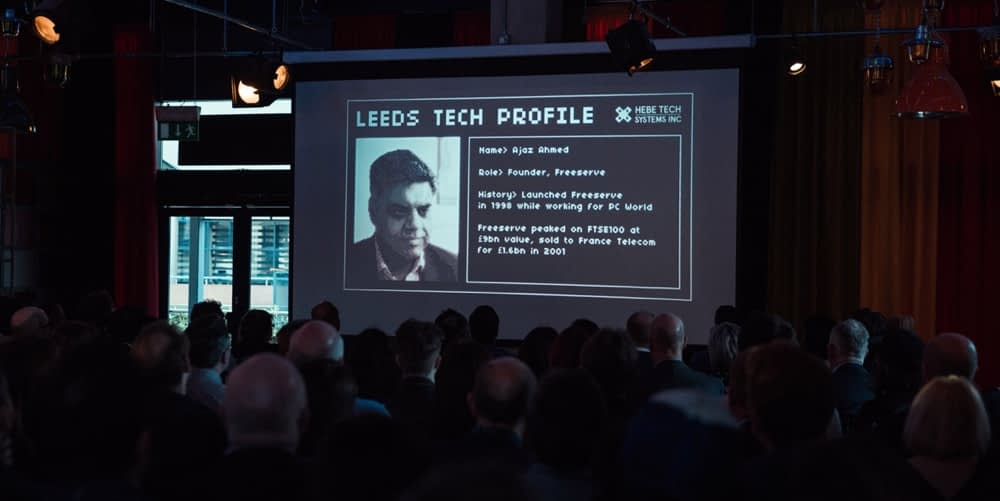 There was a packed room for the film's premier at Leeds Digital Festival. Image credit: thecitytalking.com