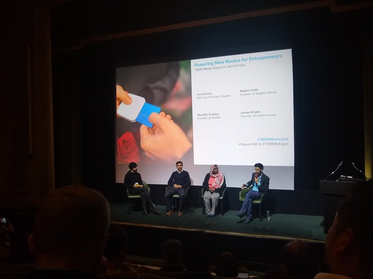 Jack Dorsey at London Tech Week