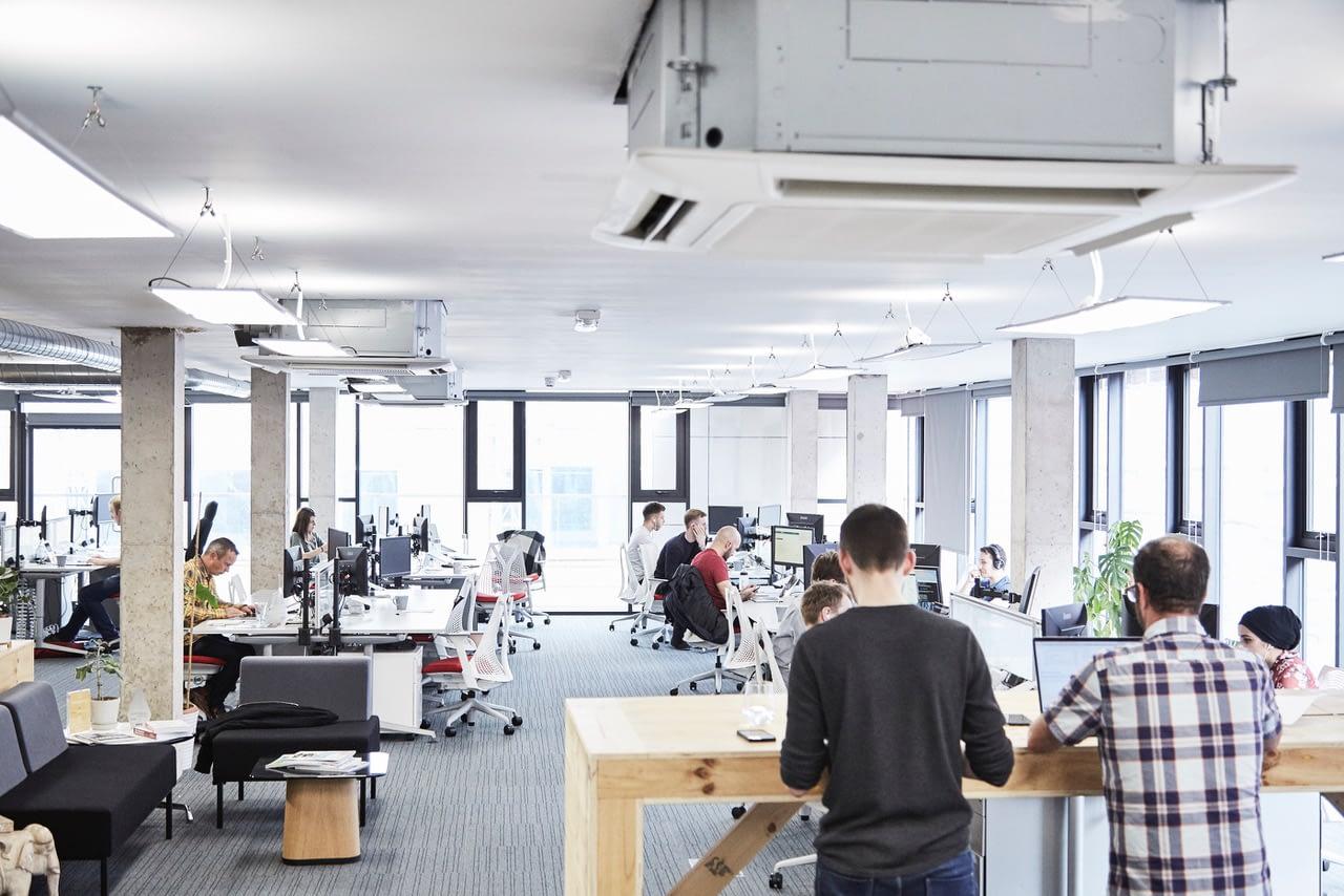 Peak's Manchester office