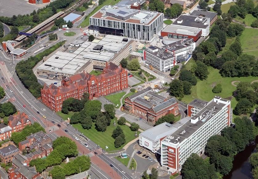 The University of Salford's Peel Campus