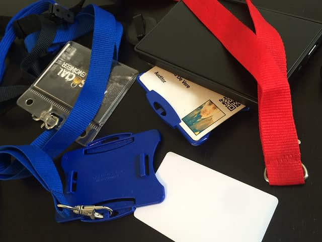 Security passes for buildings