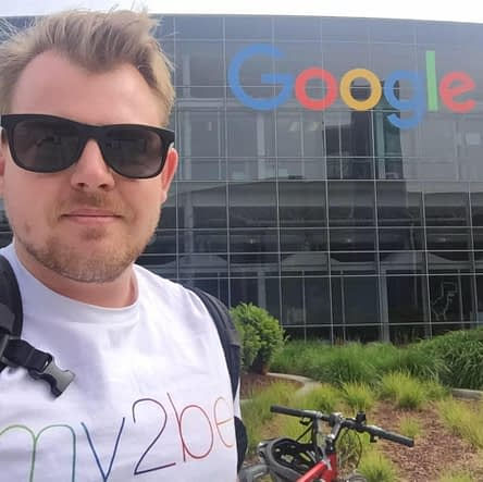 At the Googleplex.