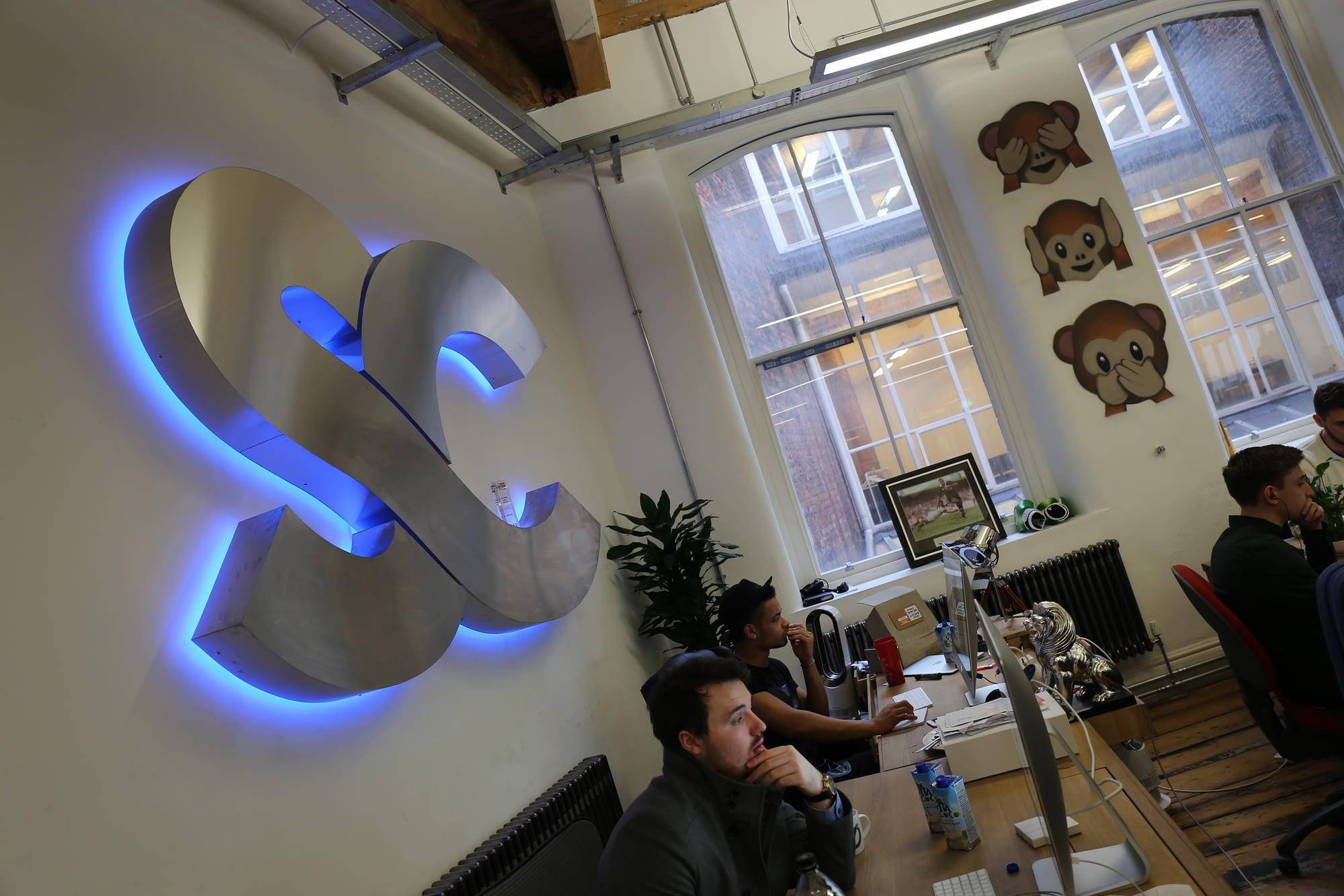Social Chain co-founders Steve Bartlett and Dom McGregor