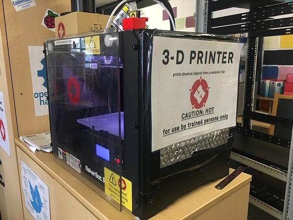 Leigh Hackspace 3d printer